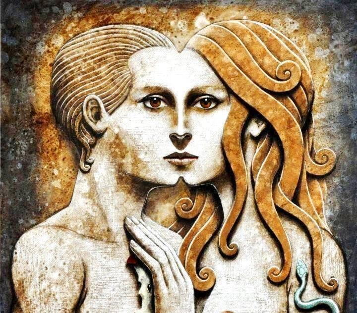 Adamo ed Eva, uno nell'Uno… lo Yoga del senso della vita