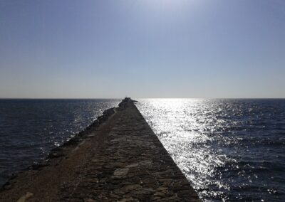una passeggiata verso il centro del Mediterraneo